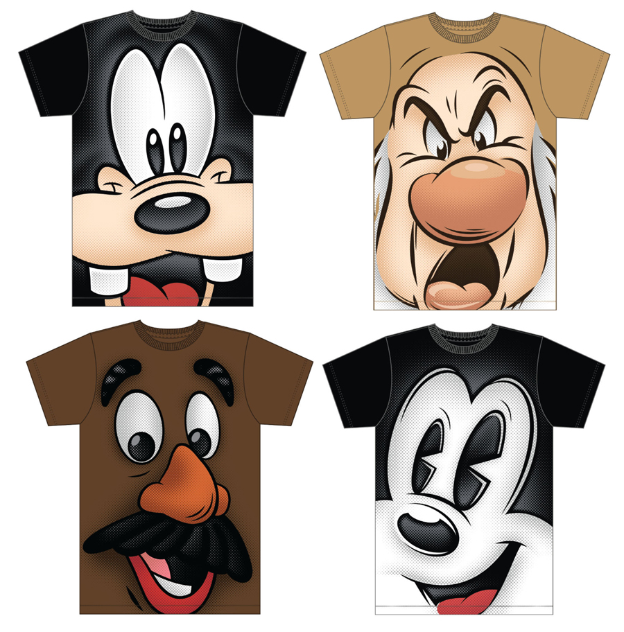 Get Up Close and Personal With New Character Shirts Coming ...