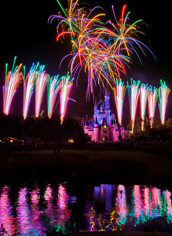 A Disney Parks Fireworks Show