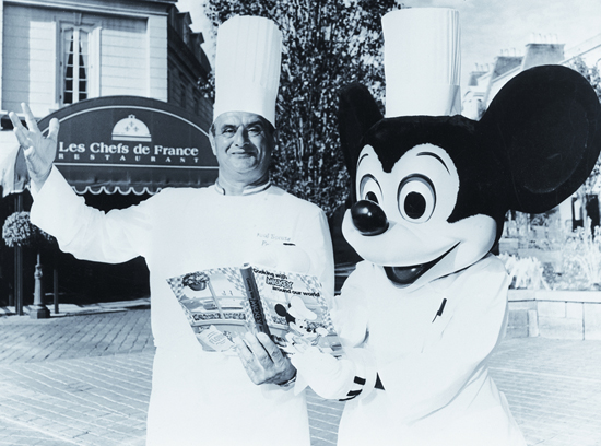 Monsieur Paul Bocuse at Les Chefs de France, his First Restaurant in America at France Pavilion at Epcot
