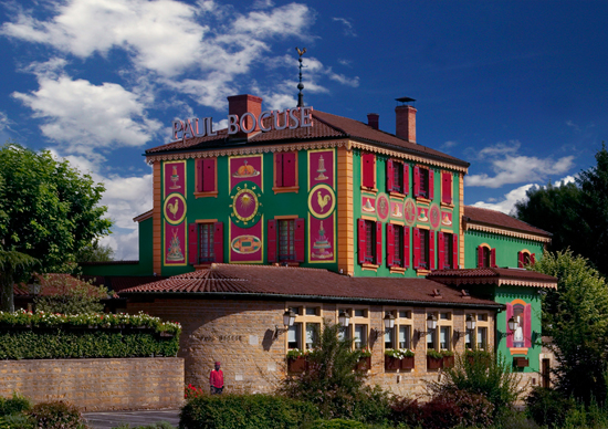 Monsieur Paul Bocuse's Famous Restaurant in Lyon, France, Auberge de Pont de Collonges