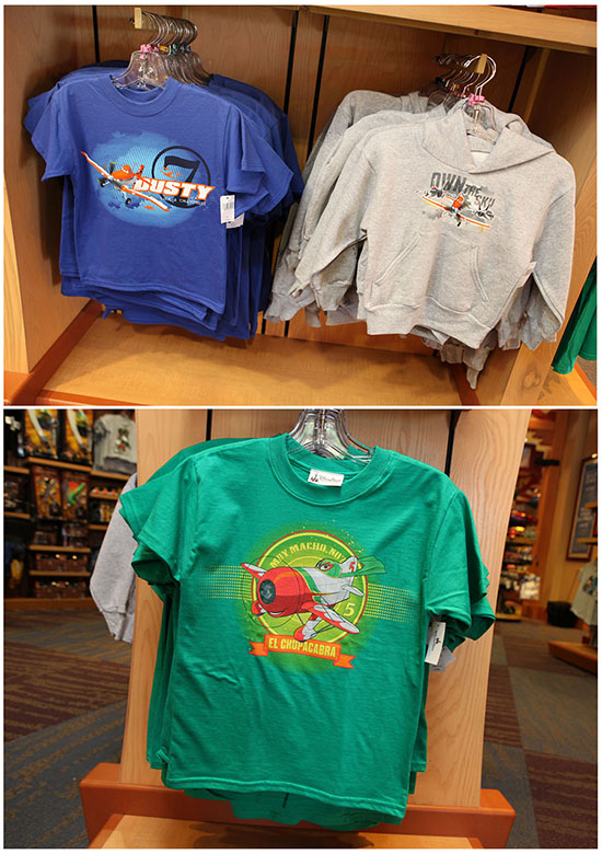 Disney 'Planes' Merchandise Lands in Disney Parks Merchandise Locations