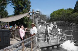 Then & Now: Celebrating 58 years at the Disneyland Resort, Featuring Tom Sawyer Island River Rafts