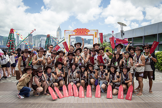 Hong Kong Disneyland Resort Joins the Canoe Races Tradition