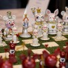 Custom Alice in Wonderland Chess Set