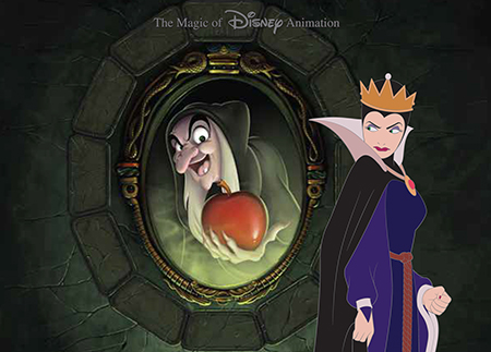Evil Queen Sees Her True Self in the Magic Mirror