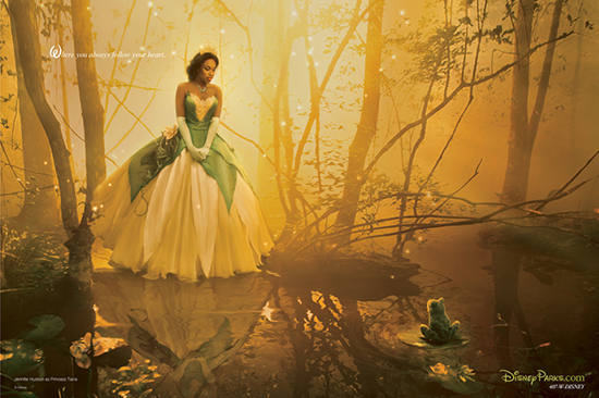 New Annie Leibovitz Disney Dream Portrait Featuring Jennifer Hudson as Tiana