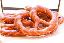 ETraditional Bavarian Pretzel
