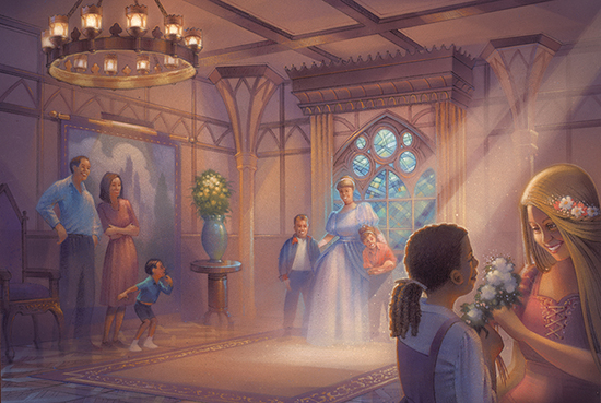 Princess Fairytale Hall at Magic Kingdom Park