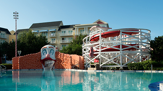 Luna Park Pool, Disney's BoardWalk Inn