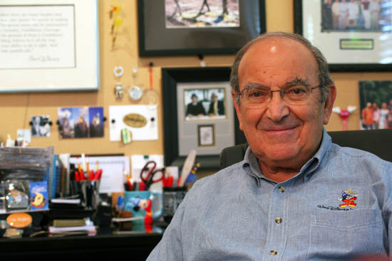 Disney Legend and retired Imagineering executive Marty Sklar