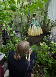 Disney Dream Portraits by Annie Leibovitz with Jennifer Hudson as Tiana