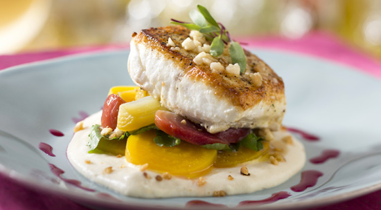 Pacific Halibut at California Grill at Disney's Contemporary Resort, Debuting September 9