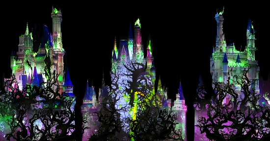 Maleficent from 'Sleeping Beauty' in 'Celebrate the Magic' at Magic Kingdom Park