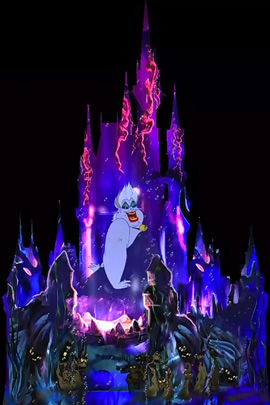 Ursula from 'The Little Mermaid' in 'Celebrate the Magic' at Magic Kingdom Park