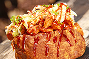 Barbecued Chicken Potato at Harbour Galley in Disneyland Park