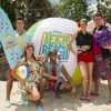 "Disney's Typhoon Lagoon Water Park hosted a beach party with the stars of the new Disney Channel Original Movie ""Teen Beach Movie."""