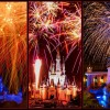 Magic Kingdom Park celebrated Independence Day all week with firework shows for seven days.
