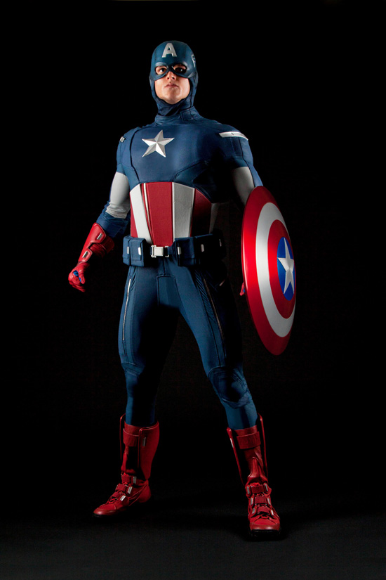 Meet Marvel's Captain America at the D23 Expo