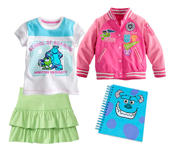 Disney Style Snapshots: Monstrous Back-to-School Outfits