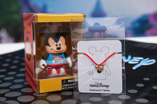 runDisney Vinylmation With Limited Edition D23 Medal; Photo Credit: Scott Brinegar