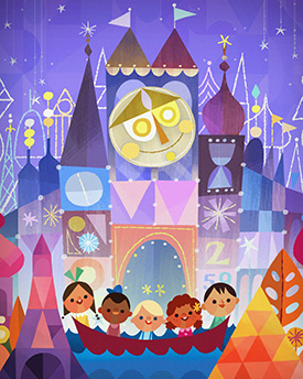September Merchandise Events at the Disneyland Resort, Featuring 'The Happiest Crew' by Joey Chou