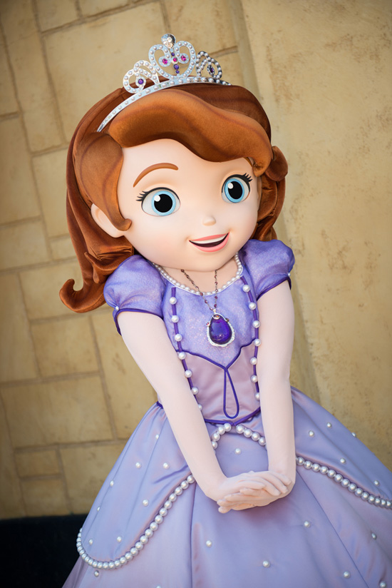 Sofia the First Has Arrived at Disney Parks