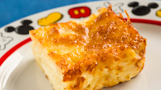 Bright New Tastes at Germany Pavilion Biergarten Restaurant at Epcot, Including the Nudel Gratin