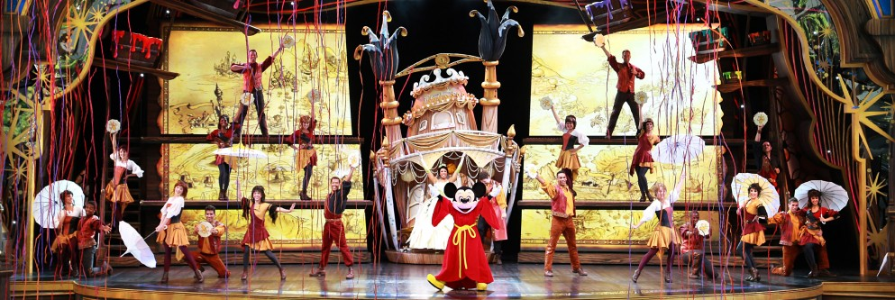 'Mickey and the Magical Map' at Disneyland Resort