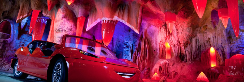 Radiator Springs Racers at Disneyland Resort