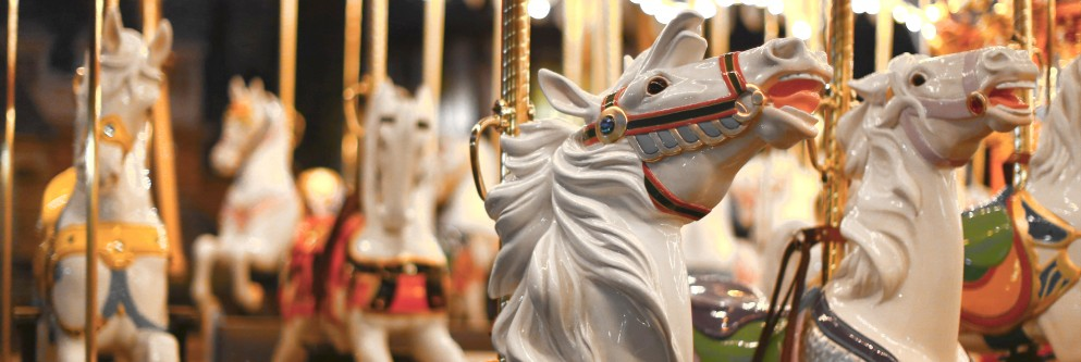 King Arthur Carrousel at Disneyland Resort