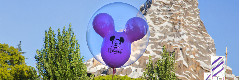 Mickey Mouse Balloon at Disneyland Resort