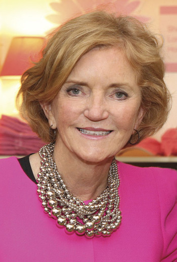 Barbara Bradley Baekgaard, Vera Bradley Co-founder and Chief Creative Officer