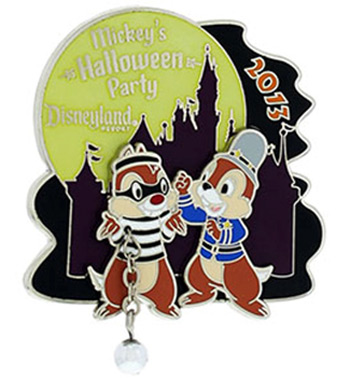 Disneyland Resort Annual Passholder Pin For Mickey's Halloween Party