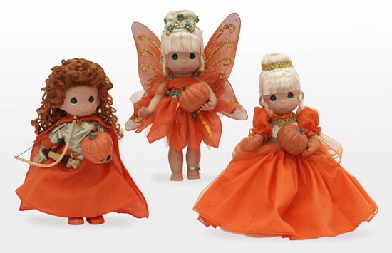Halloween-Inspired Dolls by Linda Rick
