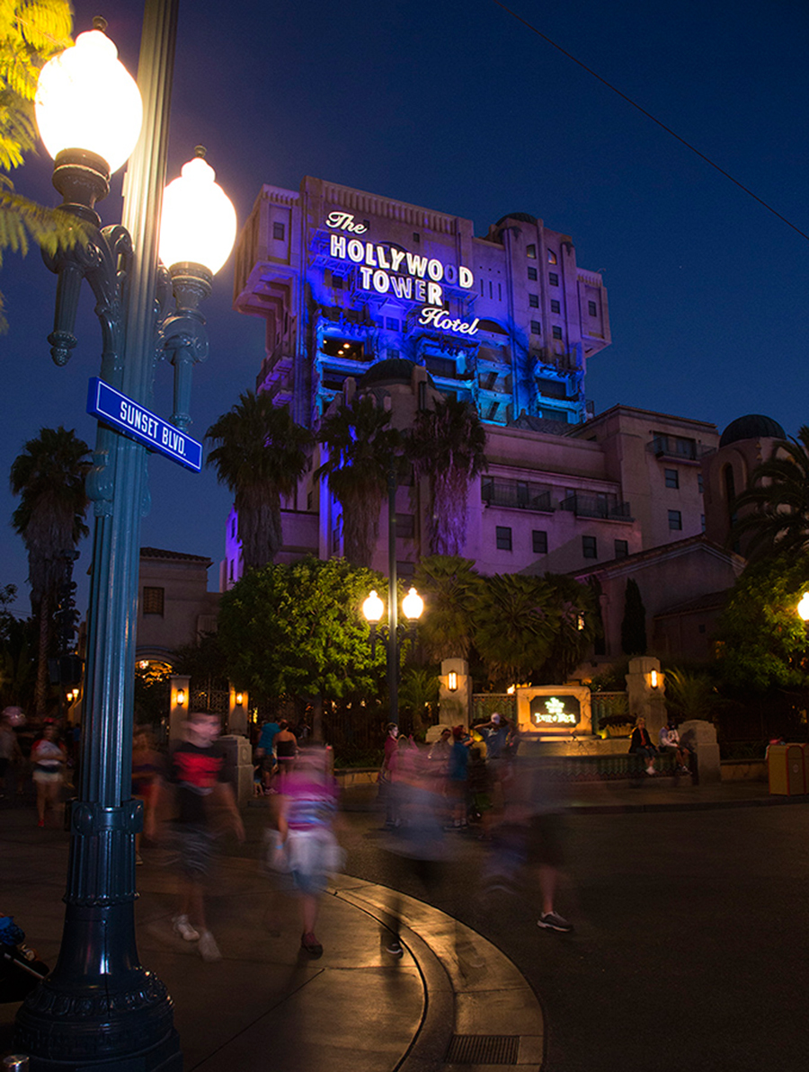 Disney Parks After Dark: Twilight Zone Tower of Terror at Disney California Adventure Park