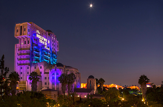 Disney Parks After Dark: Twilight Zone Tower of Terror at Disney California Adventure Park