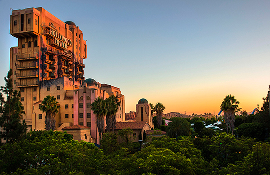 The Twilight Zone Tower of Terror at Disney California Adventure Park