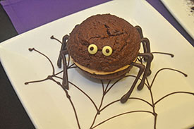 Peanut Butter Chocolate Spider Whoopie Pie at Tony's Town Square Restaurant on Main Street, U.S.A.