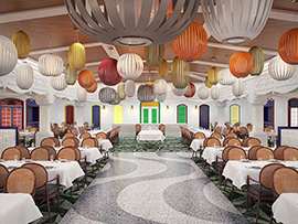 A Taste of South America at Carioca's on the Re-imagined Disney Magic