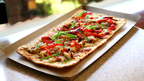 Lots of Sweet, Savory Delights for Halloween Time at Disneyland Resort: Anti-Vampire Chicken Flatbread