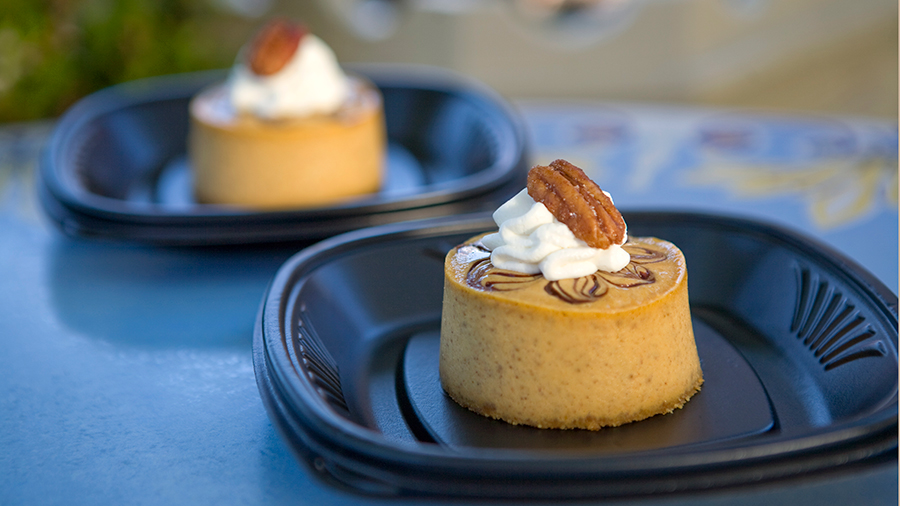 Lots of Sweet, Savory Delights for Halloween Time at Disneyland Resort: Pumpkin Cheesecake