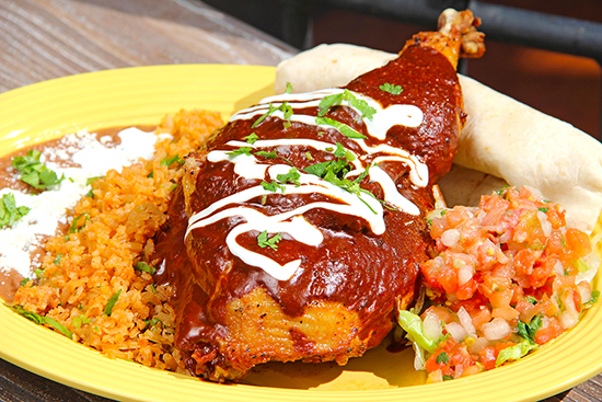 New on Menu at Rancho del Zocalo in Disneyland Park: Chicken Mole