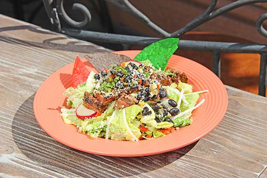 New on Menu at Rancho del Zocalo in Disneyland Park: Hacienda Caesar Salad with Carne Asada