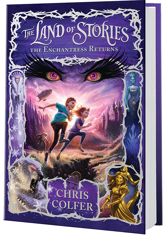 'The Land of Stories: The Enchantress Returns' by Chris Colfer