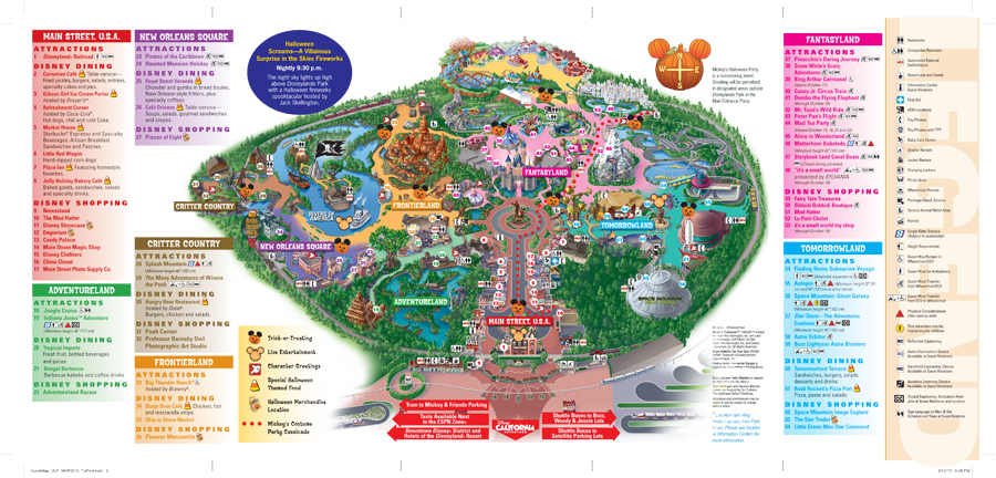 The gallery for --> Disneyland Map 2014 Pdf