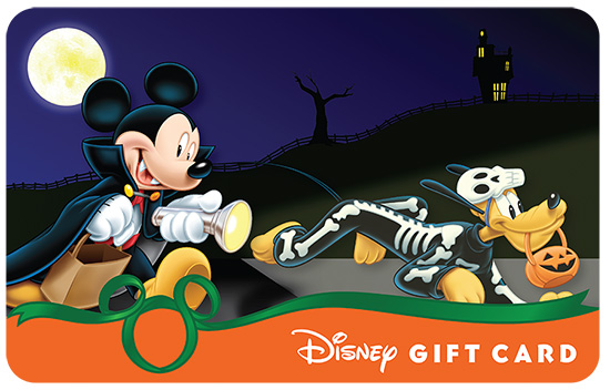 Mickey Lights The Night With This New Disney Gift Card