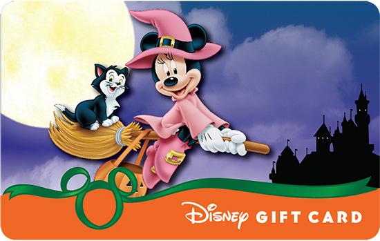 Minnie Takes Flight on Halloween Night Over Sleeping Beauty Castle