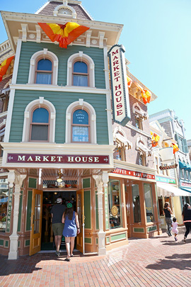 Market House, Serving Starbucks, Opens Today at Disneyland Park