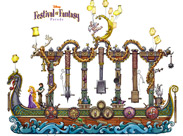 'Disney Festival of Fantasy Parade' Floats
