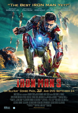 'Limited Time Magic': Take Home an 'Iron Man 3'/'Agents of S.H.I.E.L.D.' Poster from Disneyland Park